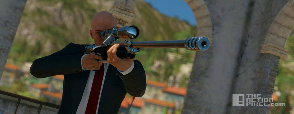 hitman. sapienza. the action pixel.entertainment on tap, square enix, io interactive. @theactionpixel