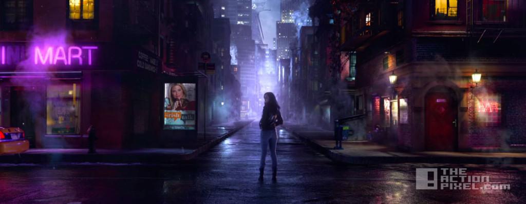 jessica jones. evening stroll. marvel. netflix. the action pixel. @theactionpixel