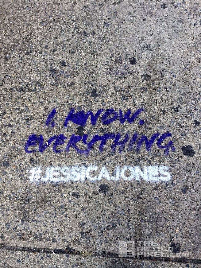 jessica jones viral campaign. marvel. netflix. the action pixel. @theactionpixel