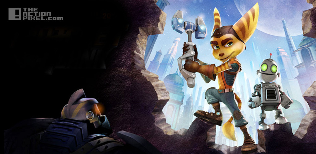 ratchet and clank. the action pixel. @theactionpixel