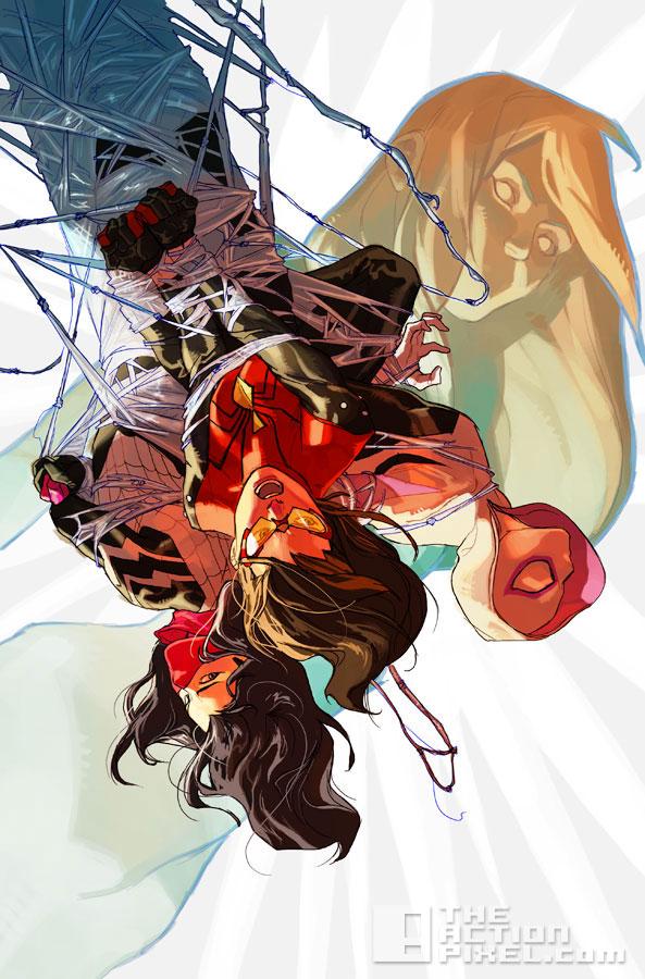 spider-women #1. marvel. the action pixel. @theactionpixel