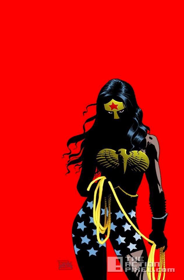 dark knight III: the master race. wonder woman. the action pixel. @theactionpixel