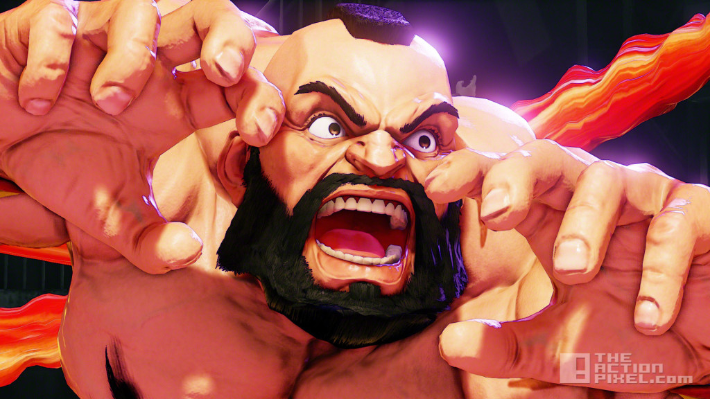 zangief. street fighter v. street fighter 5. capcom. the action pixel. @theactionpixel