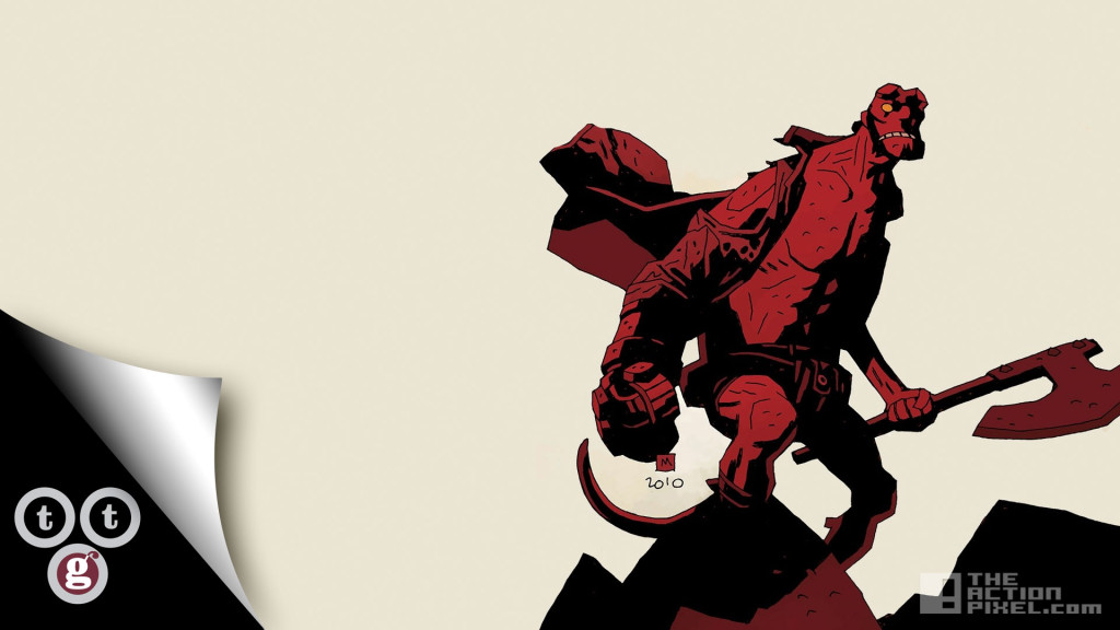 4 hellboy telltale games. concept game. the action pixel. @theactionpixel