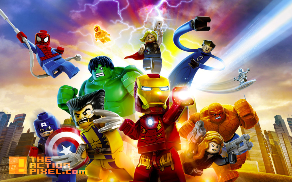 LEGO MARVEL SUPER HEROES. LEGO Avengers Assemble!. MARVEL. DISNEY. THE ACTION PIXEL. @THEACTIONPIXEL