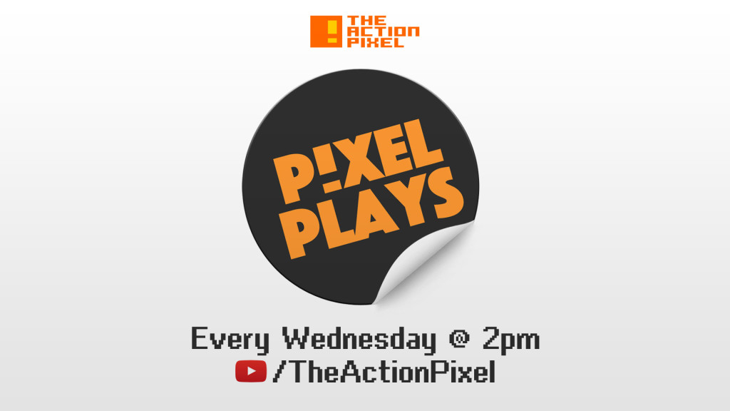 PIXEL PLAYS BANNER. the action pixel. @theactionpixel. All rights reserved.