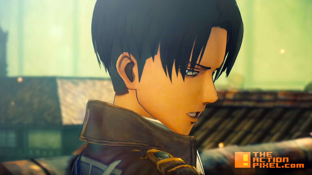 attack on titan. video game. koei tecmo. the action pixel. @theactionpixel