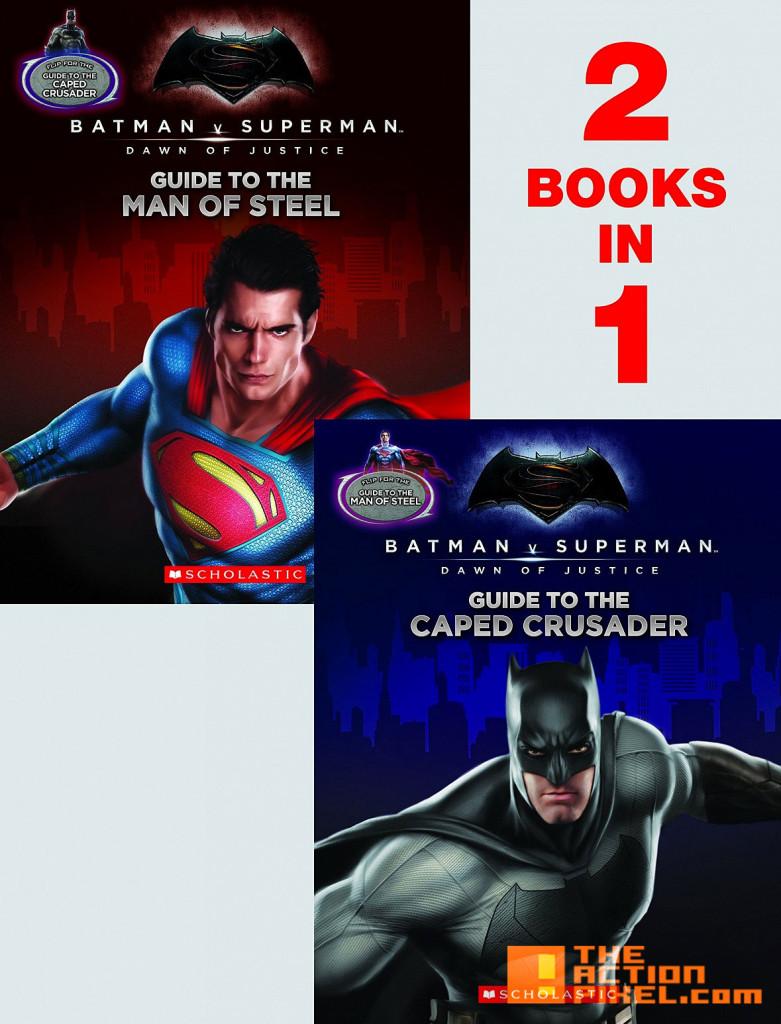 batman v superman companion novels. dawn of justice. wb. dc comics. scholastic. the action pixel. @theactionpixel