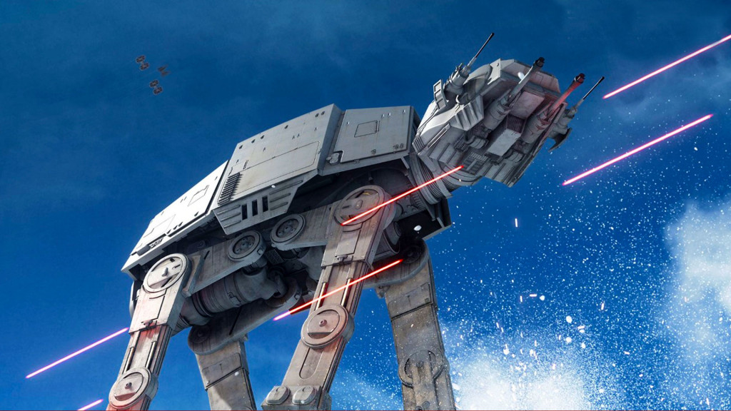 star wars battlefront. ea. the action pixel. @theactionpixel