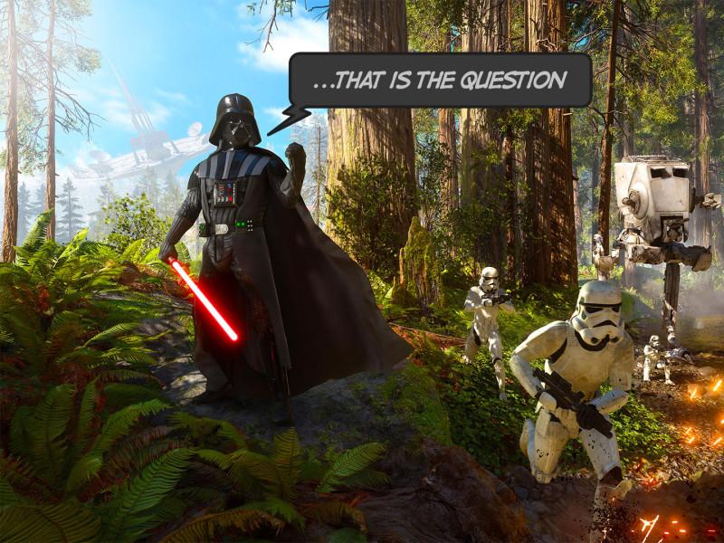 star wars battlefront. ea. the action pixel. @theactionpixel. dice games.