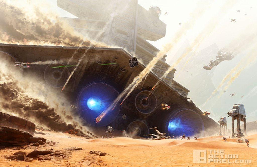 battle of jakku. star wars battlefront. ea. the action pixel. @theactionpixel. dice games.