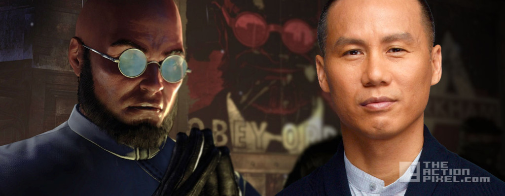 b.d. wong. hugo strange. the action pixel. dc comics. gotham. fox.