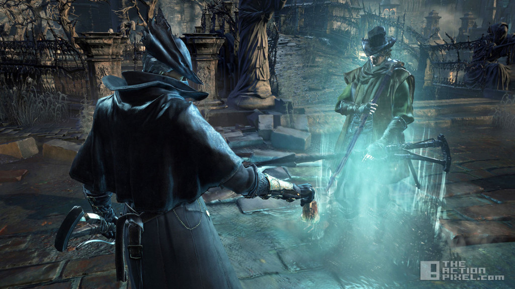 bloodborne. the old hunters. from software. the action pixel. @theactionpixel