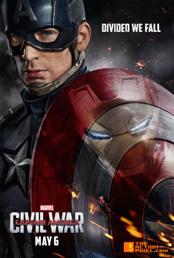 Captain America: Civil War. marvel. entertainment on tap. the action pixel. @theactionpixel