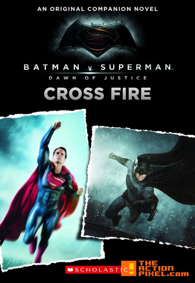 cross fire. batman v superman. the action pixel. @theactionpixel