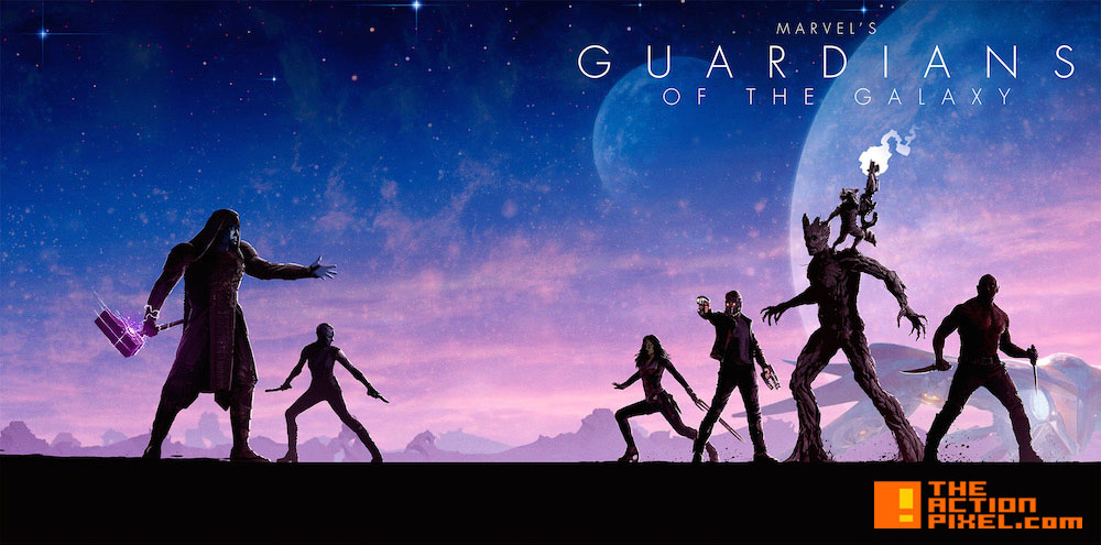 gotg_boxart. guardians of the galaxy. marvel phase 2. the action pixel. @theactionpixel