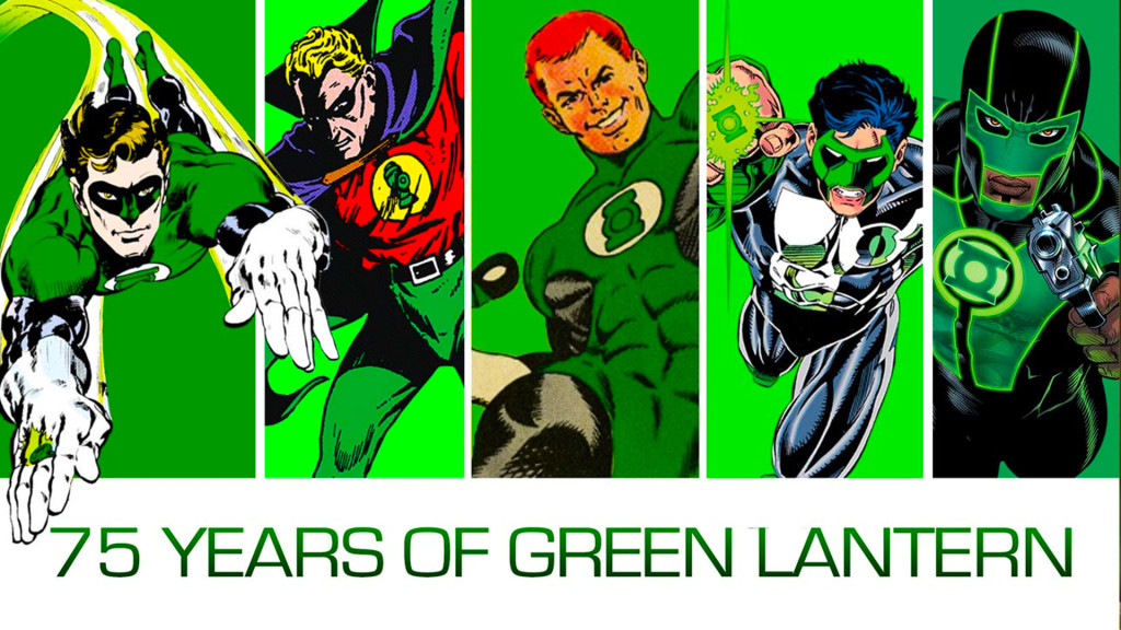 green lantern 75 years. the action pixel. dc comics. @theactionpixel
