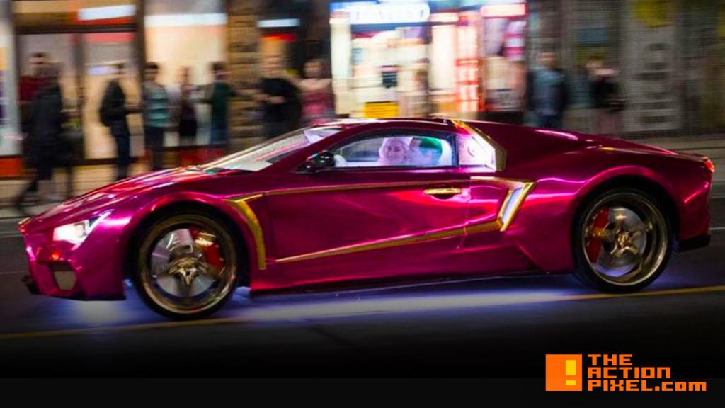 joker car. suicide squad. the action pixel. @theactionpixel. wb. dc comics.