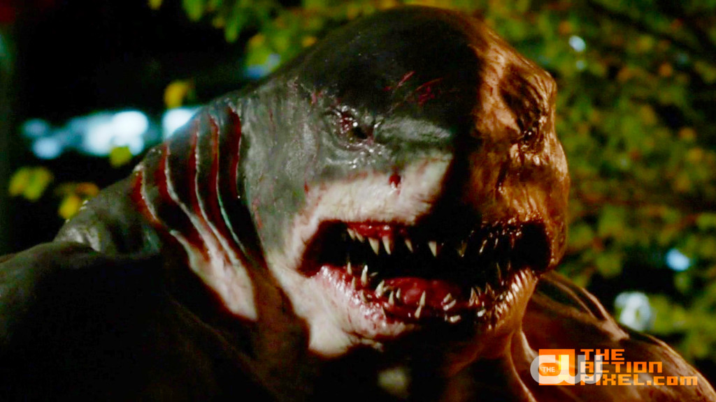 king shark. the flash. the cw. entertainment on tap. dc comics. the action pixel. @theactionpixel