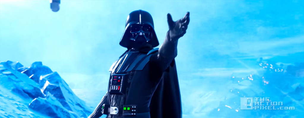 DARTH VADER .STAR WARS. EA. THE ACTION PIXEL. @THEACTIONPIXEL