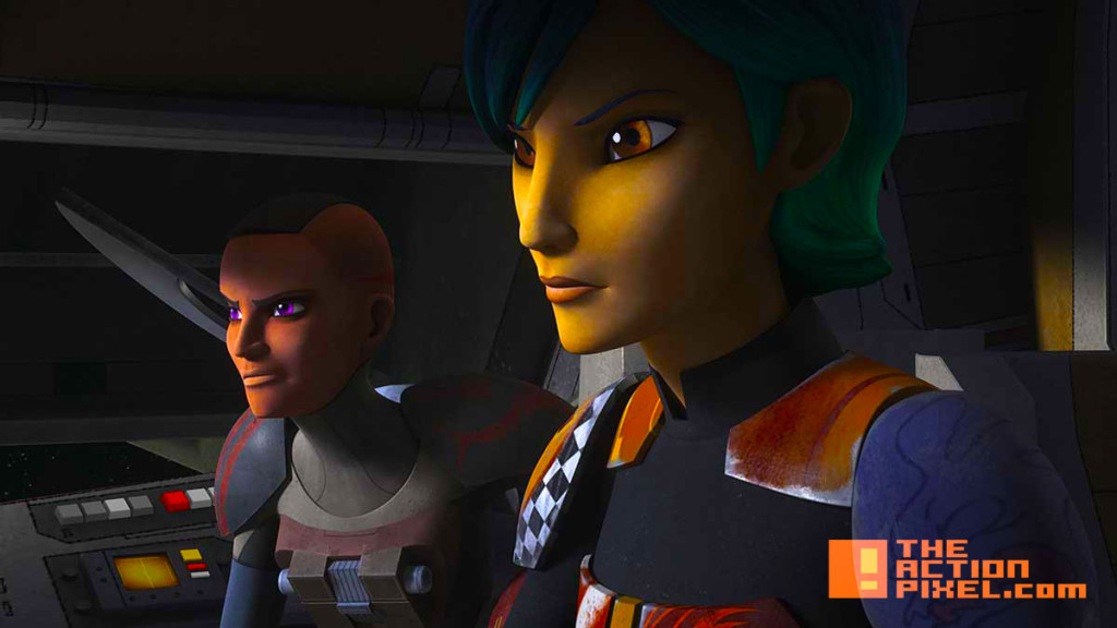 star wars rebels. Blood Sisters. disney. entertainment on tap. the action pixel. @theactionpixel