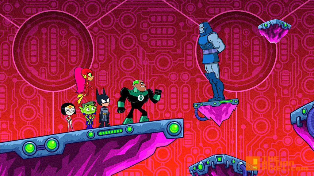Teen Titans Go! two parter. wb animation. dc comics.