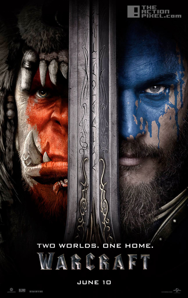 warcraft Poster. blizzard. universal. the action pixel. @theactionpixel