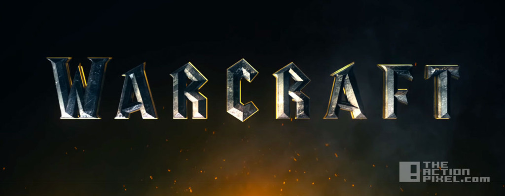 warcraft title. blizzard. legendary. universal. the action pixel. @theactionpixel