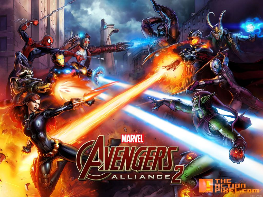 Avengers alliance 2. marvel. the action pixel. @theactionpixel