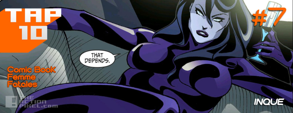 #tap10 comic book femme fatales. the action pixel. @theactionpixel