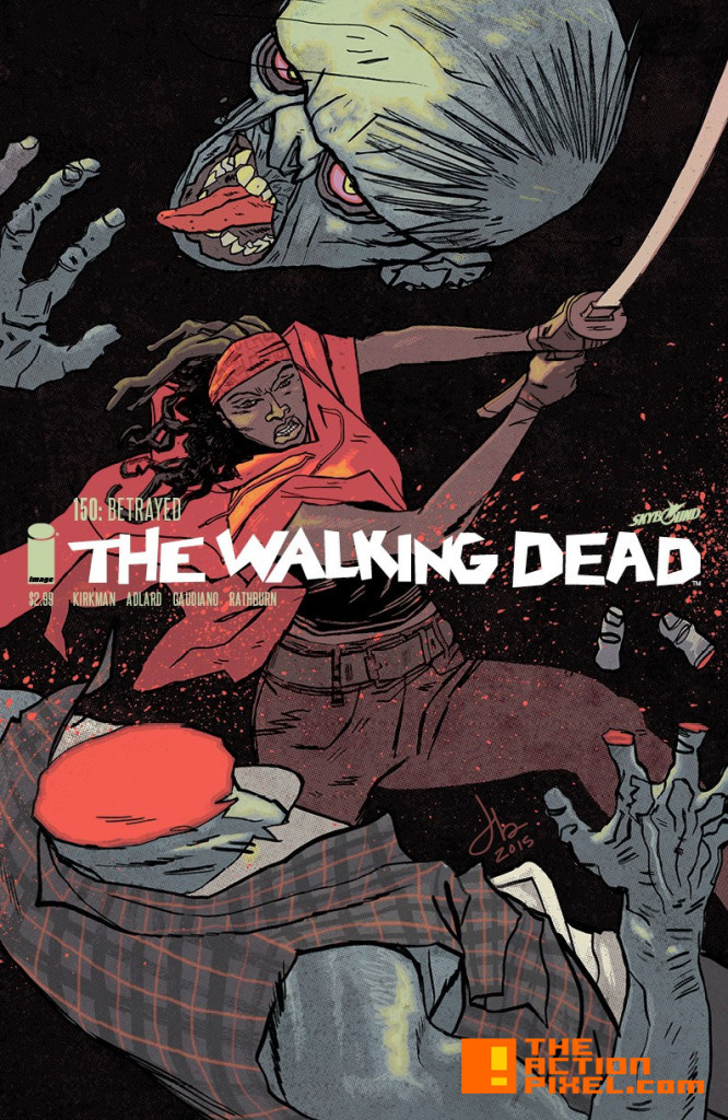 the walking dead issue 150 Jason Latour Cover. the action pixel. @theactionpixel