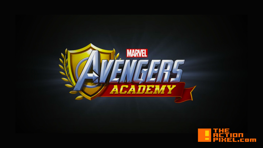 avengers academy. marvel. the action pixel. @theactionpixel