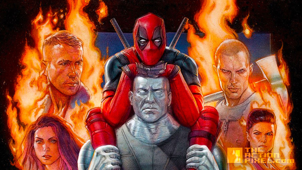 deadpool poster imax. 20th century fox. the action pixel. @theactionpixel