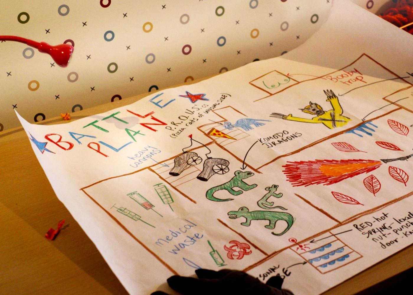 deadpool battle plan. deadpool santa ryan reynolds. deadpool. #12daysofChristmas. 20th century fox. marvel. the action pixel. @theactionpixel