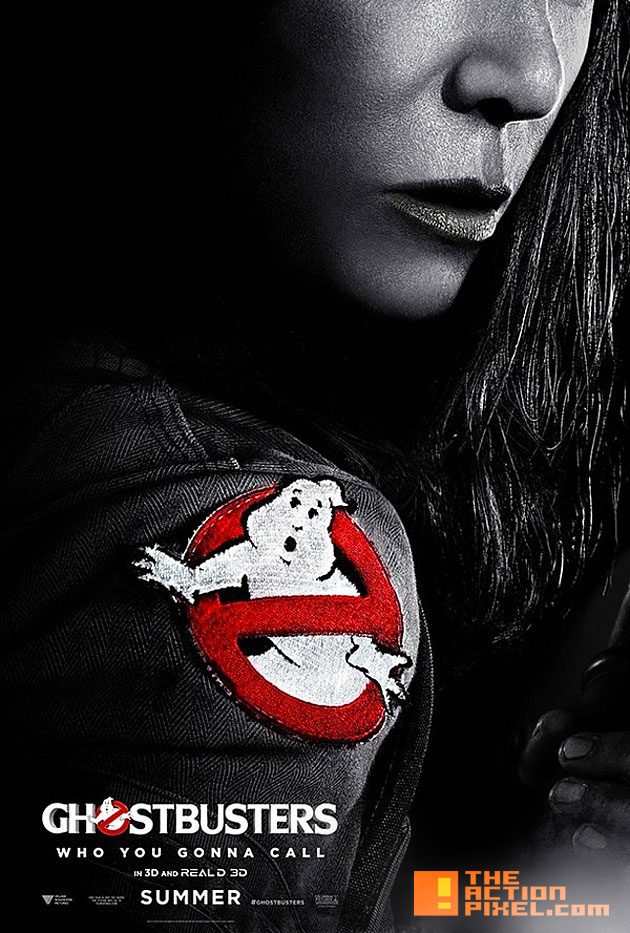 paul feig ghostbuster. sony. poster. the action pixel. @theactionpixel