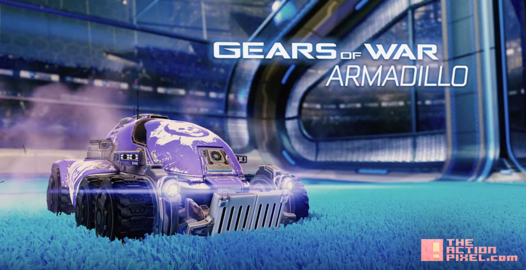 armadillo. Rocket League. halo. the action pixel. @theactionpixel
