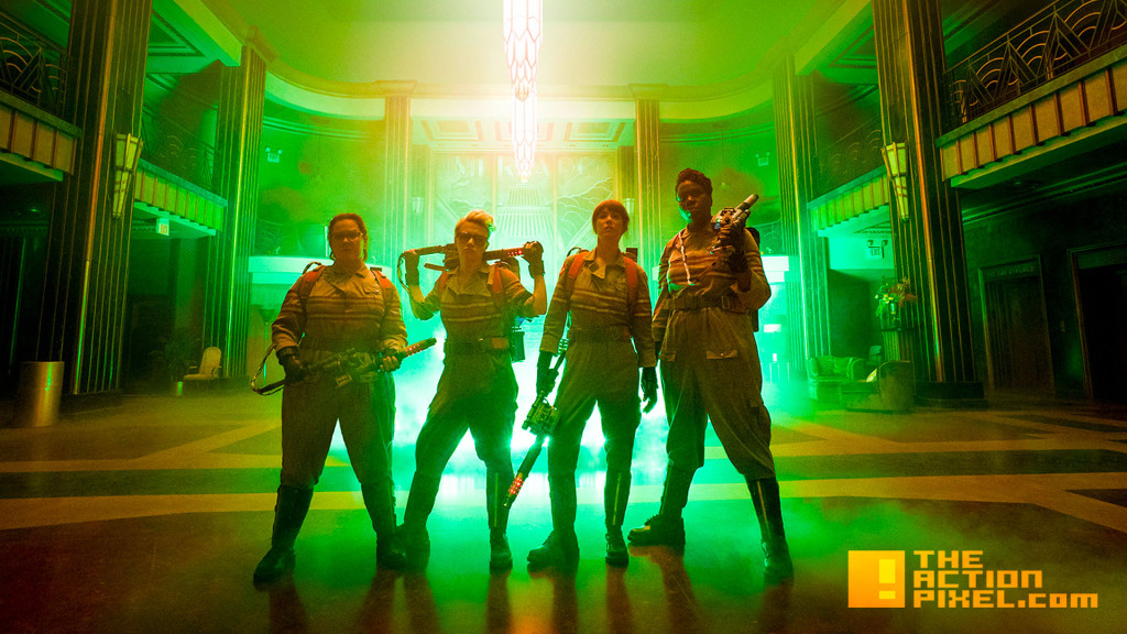 ghostbusters. sony. the action pixel. @theactionpixel