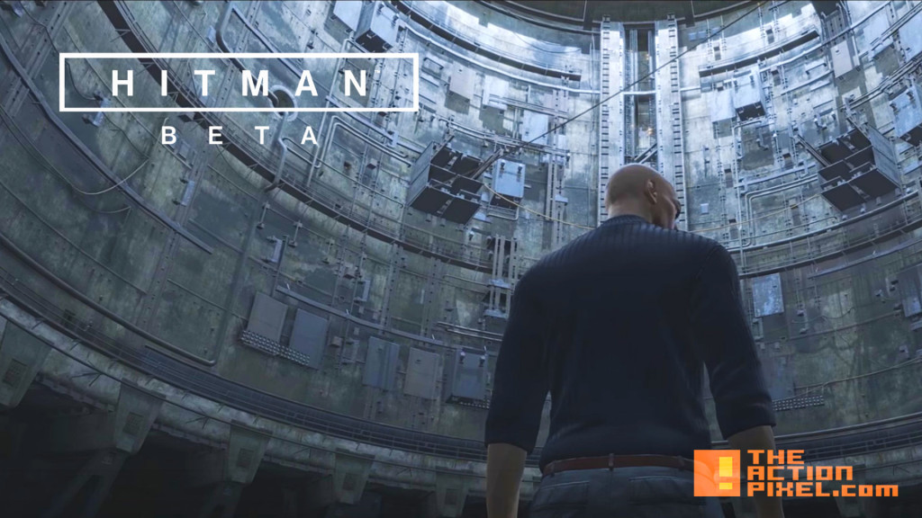 hitman Beta. the action pixel. @theactionpixel. square enix.