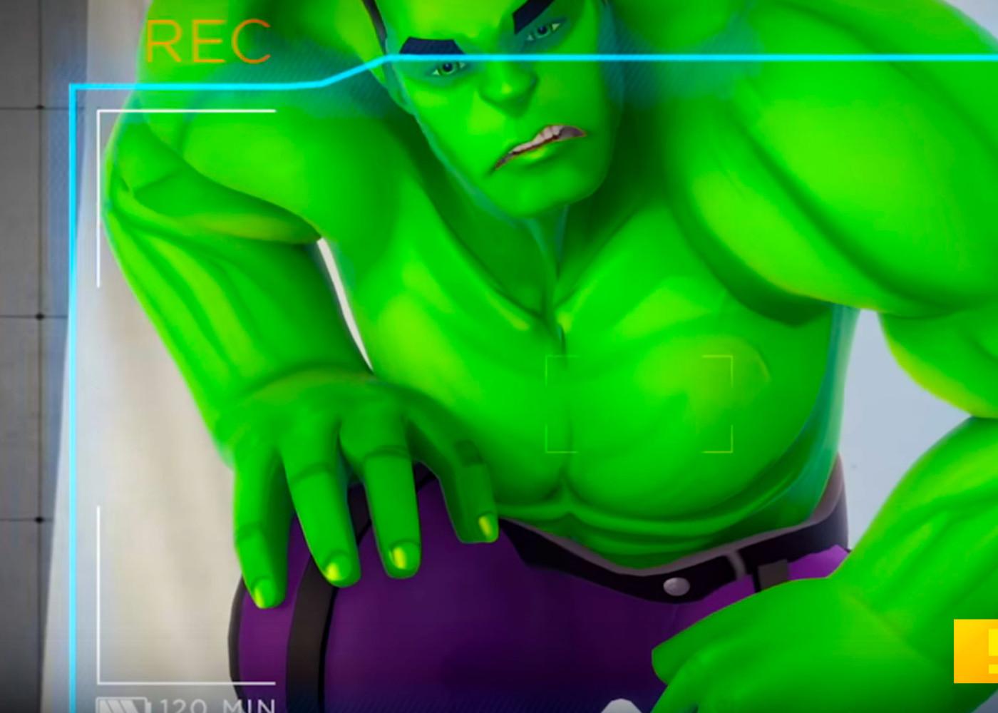 hulk. avengers academy. marvel. the action pixel. @theactionpixel