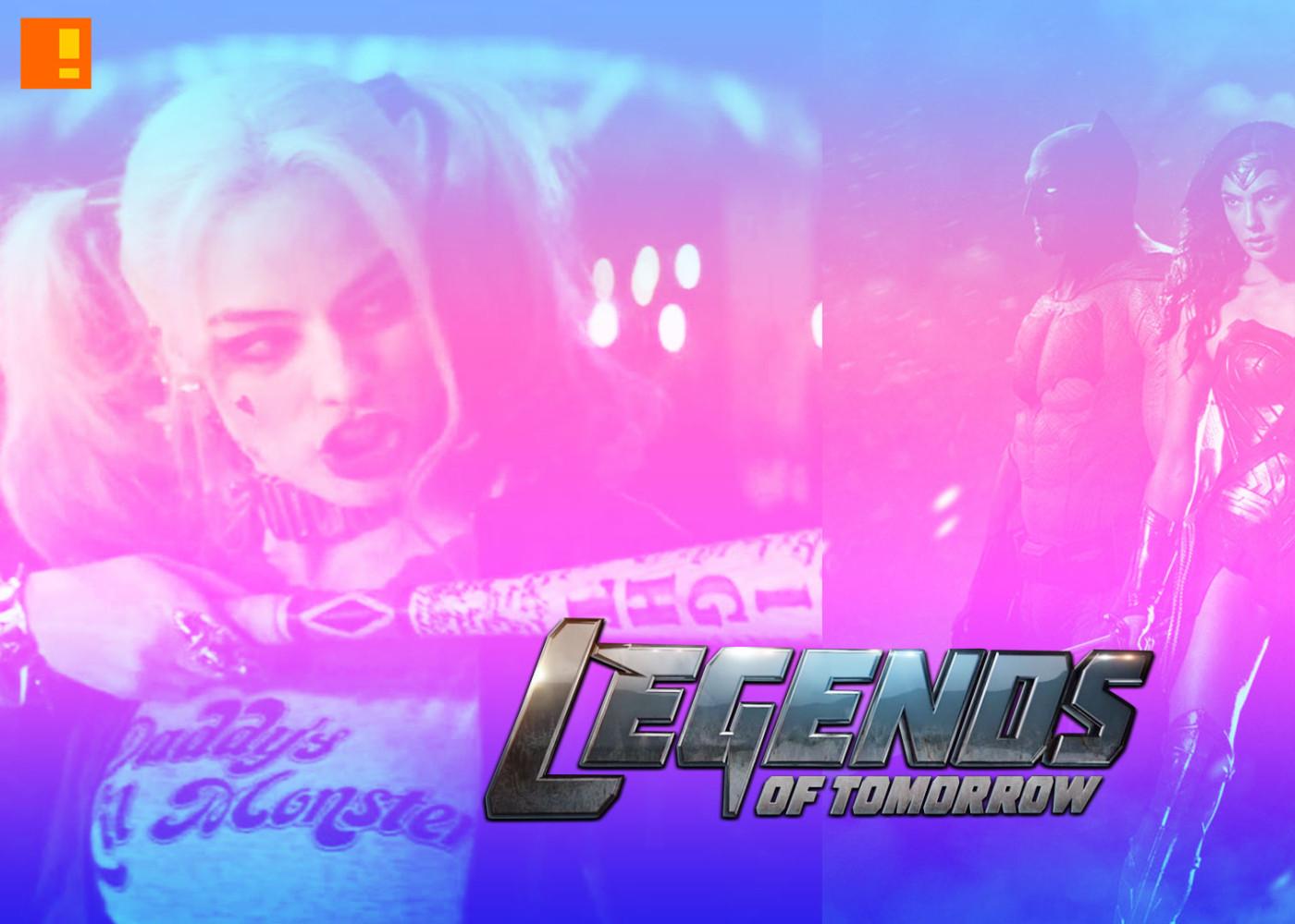 legends of tomorrow. suicide squad. batman vs superman. dawn of justice. the CW network. dc comics. entertainment on tap,