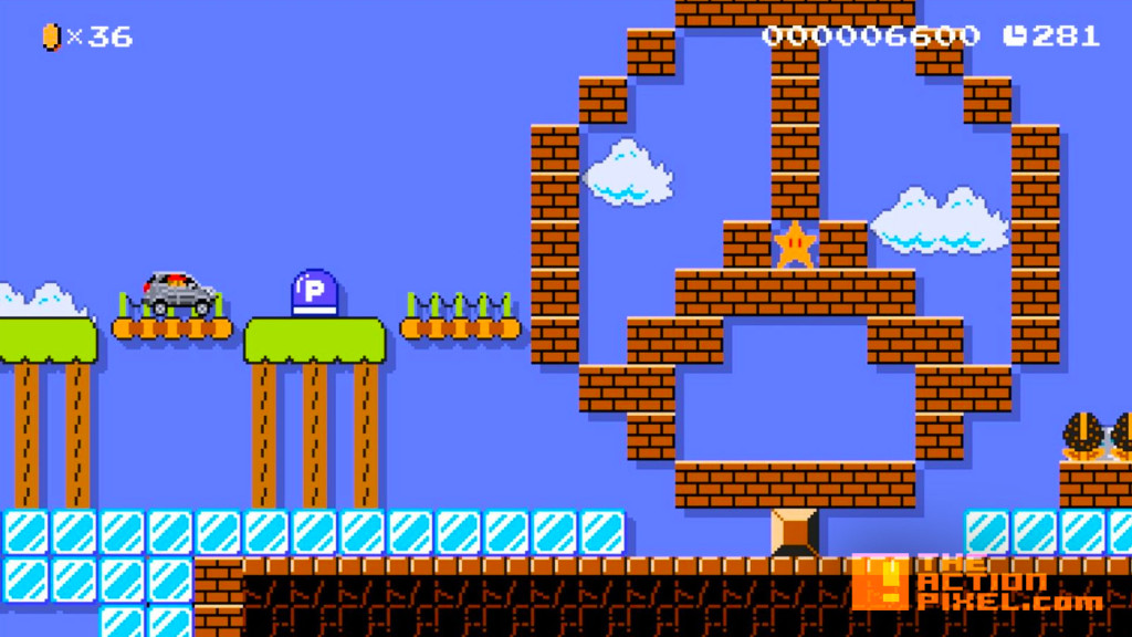 mercedes-benz gla. super Mario Maker. the action pixel. @theactionpixel