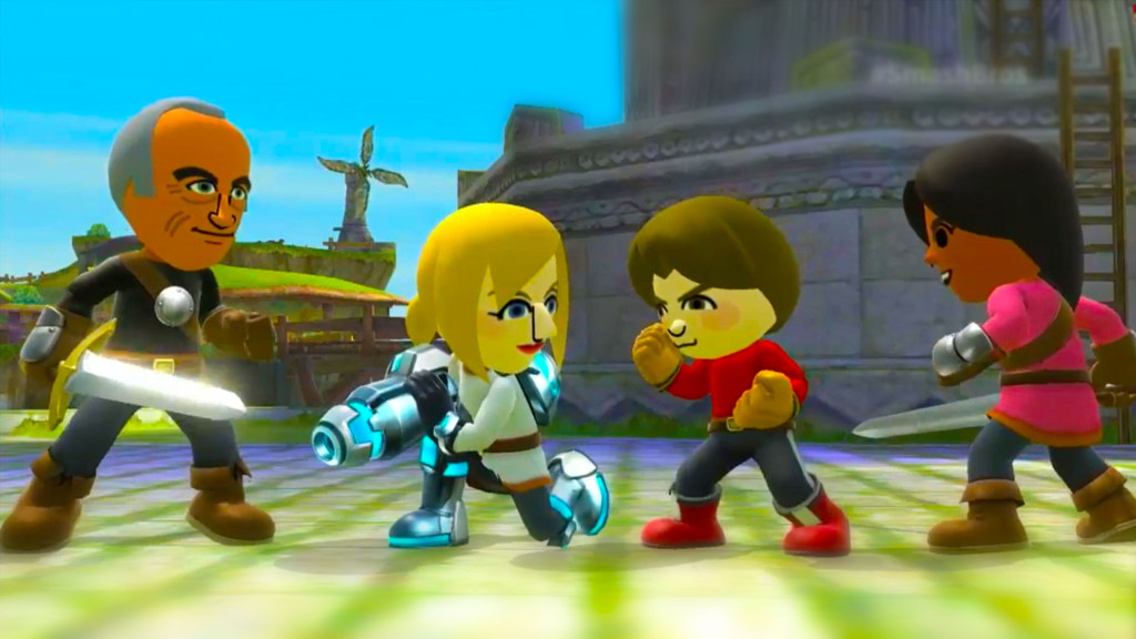 mii. nintendo. wii u. the action pixel. @theactionpixel.