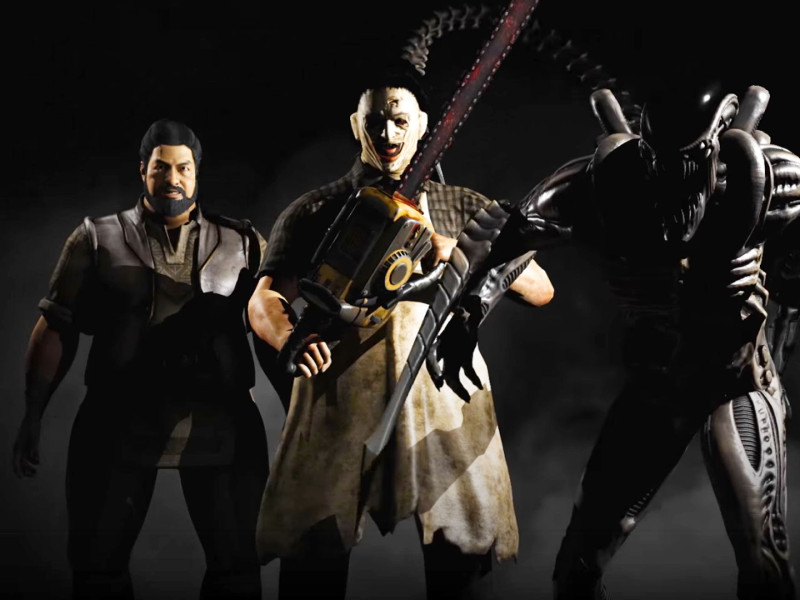 mortal Kombat Pack 2. the action pixel. netherealm studios. the action pixel. @theactionpixel. xenomorph, leatherface