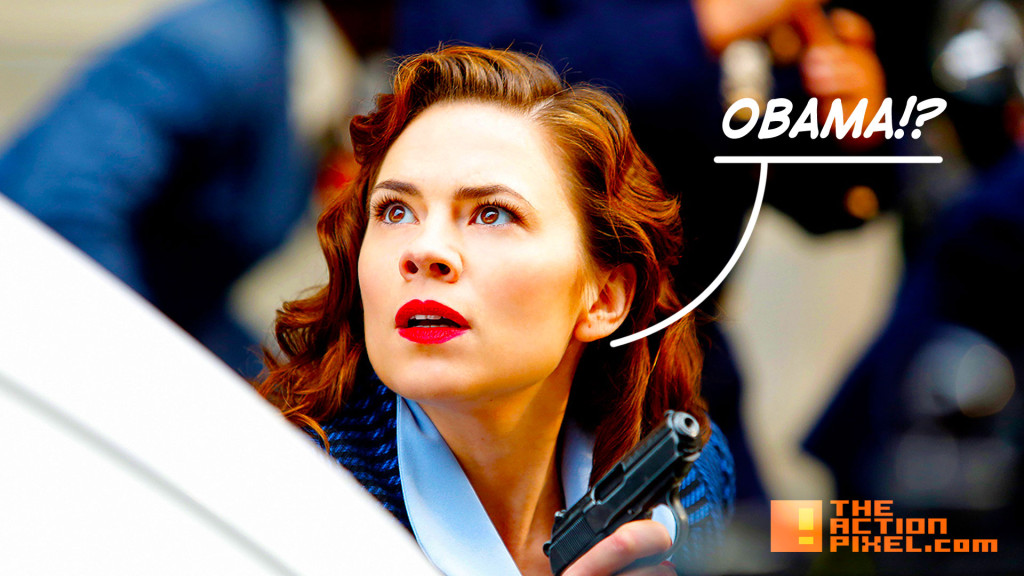 agent carter. season 2. marvel. abc. the action pixel. @theactionpixel. obama