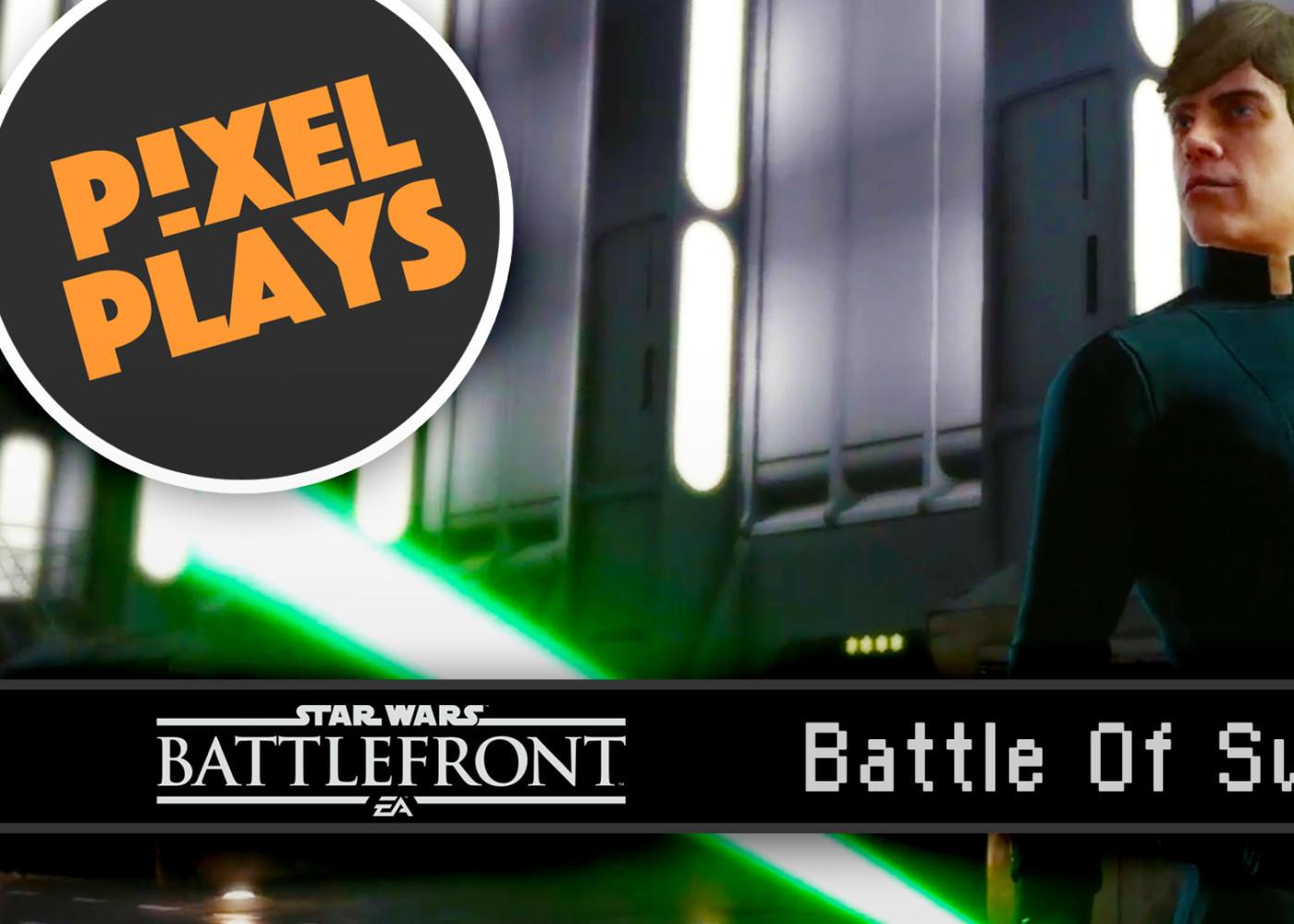 pixel plays. star wars battlefront. ea. the action pixel. @theactionpixel #EntertainmentOnTAP