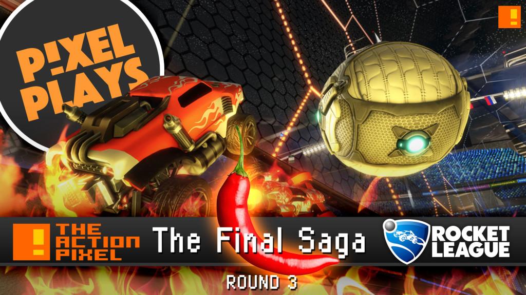pixel plays: tap vs rocket league all star bots. the action pixel. @theactionpixel. psyonics, entertainment on tap