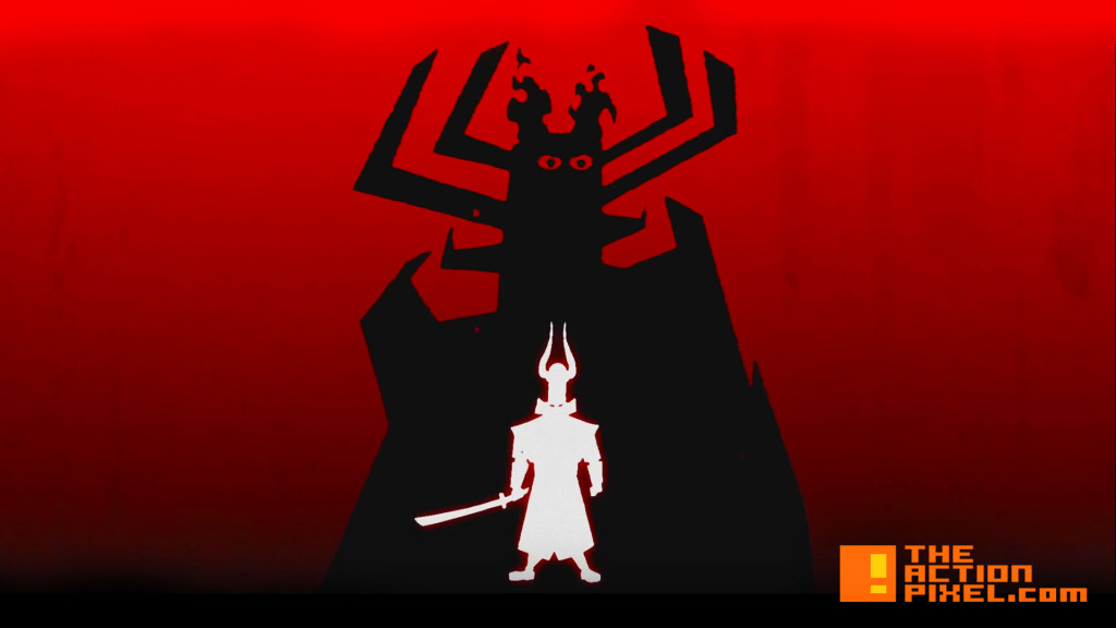 samurai jack. jack is back. cartoon network. adult swim. the action pixel. @theactionpixel
