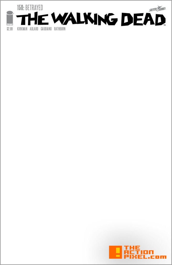 The Walking Dead Blank Cover. the action pixel @theactionpixel