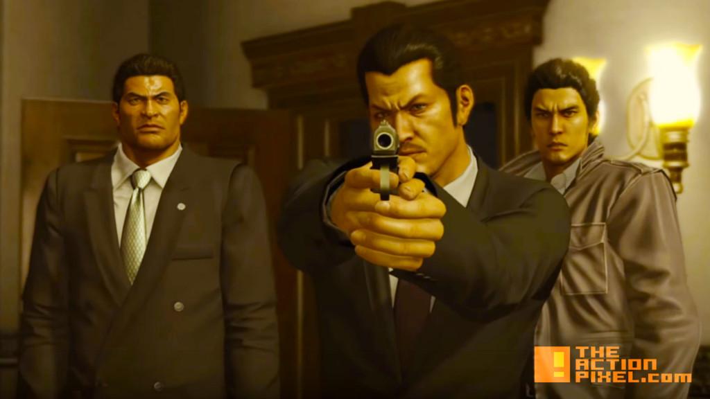 yakuza 5. sega. the action pixel. @theactionpixel