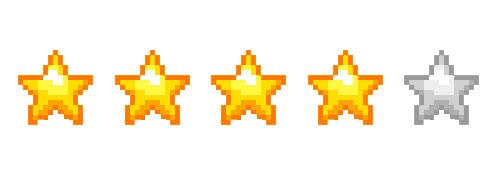 4_star Review Rating. the action pixel. @theactionpixel